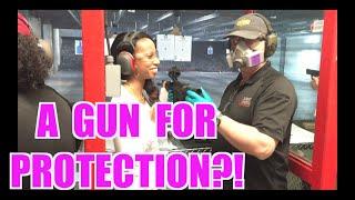 A GUN FOR PROTECTION?!