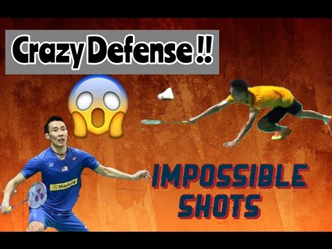 Lee Chong Wei • Impossible Defending Skills  • 2015 Edition