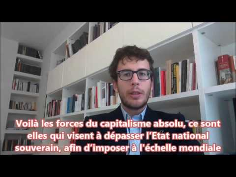 DIEGO FUSARO: L'Internationale de la Finance libérale. Le Capital contre l'État