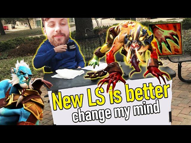New Lifestealer vs Old Phantom Lancer - Hard Game