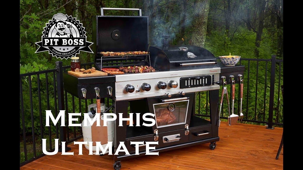 Pit Boss Memphis Ultimate Youtube