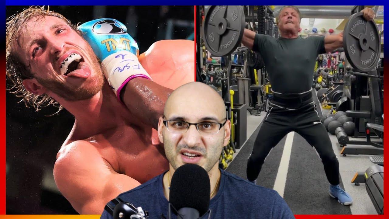 Logan Paul Should Retire/ Stallone's Strength Test