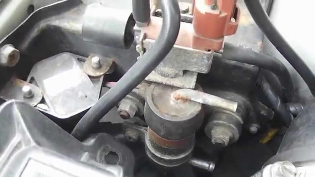 Cleaning Subaru boost solenoid  YouTube