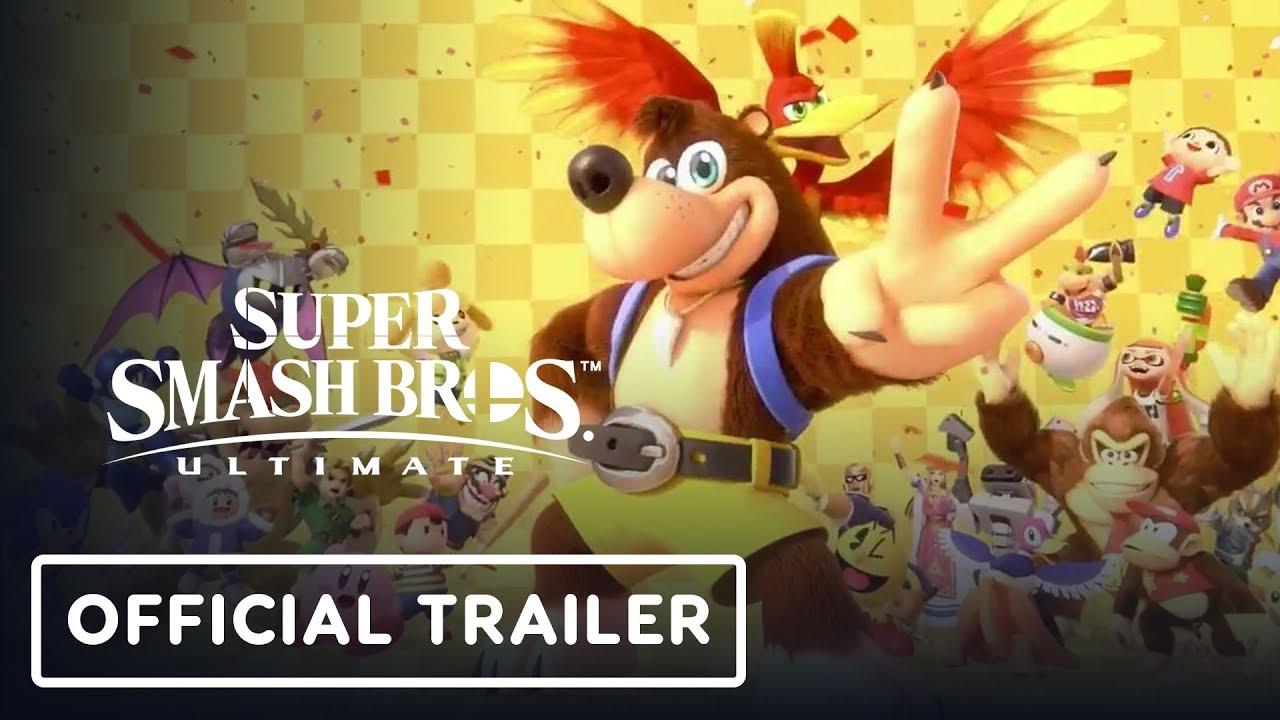 Super Smash Bros. Ultimate Banjo-Kazooie Official Trailer - E3 2019