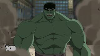 Ultimate Spider-Man: Web-Warriors - The Rampaging Rhino - Hulk - Disney XD UK HD
