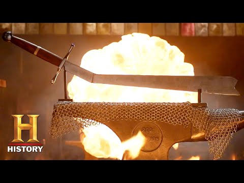 Forged in Fire: WHEEL OF FORGING Determines Bladesmiths LETHAL Fate (Season 8) | History