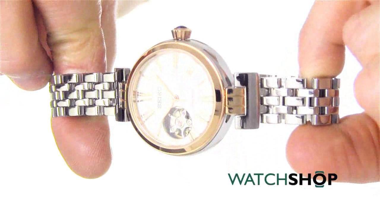 938d650c4 Seiko Ladies' Automatic Watch (SSA862K1) - YouTube