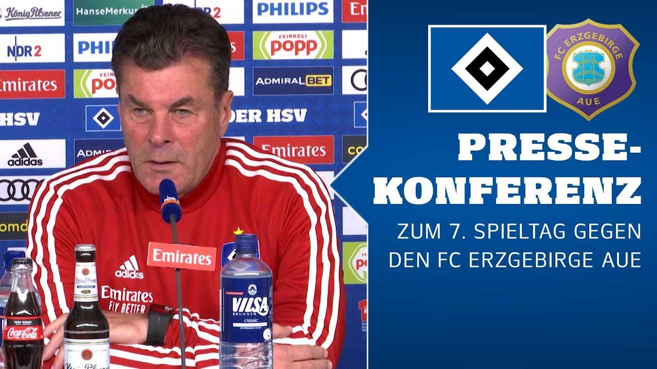 RELIVE: Die PK vor dem 7. Spieltag gegen den FC Erzgebirge Aue