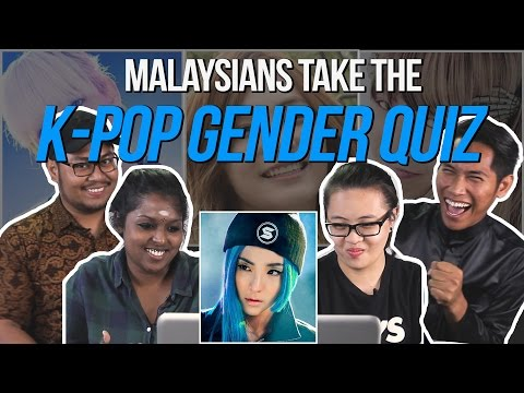 Malaysians Take The K-Pop Gender Quiz