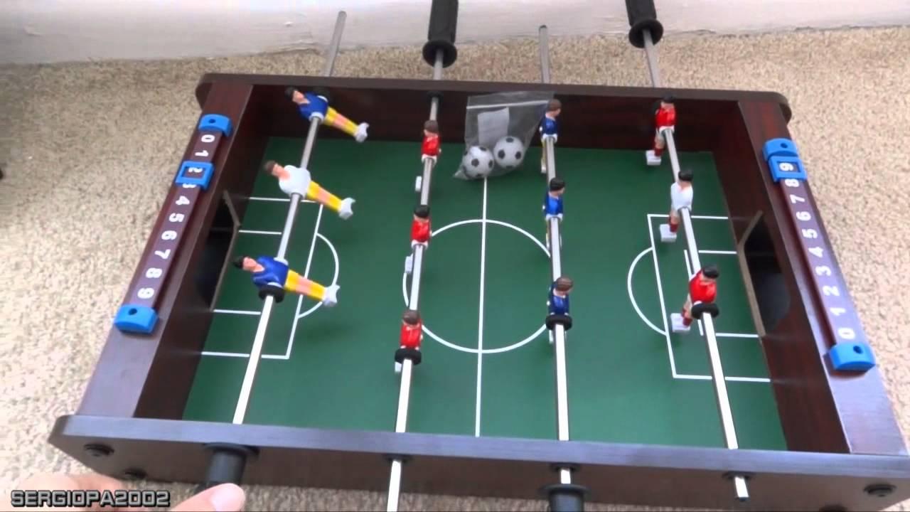 Ideas para regalos economica mesa de futbollito juego for Juego de mesa de futbol