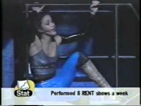 Saskia as Mimi in Rent