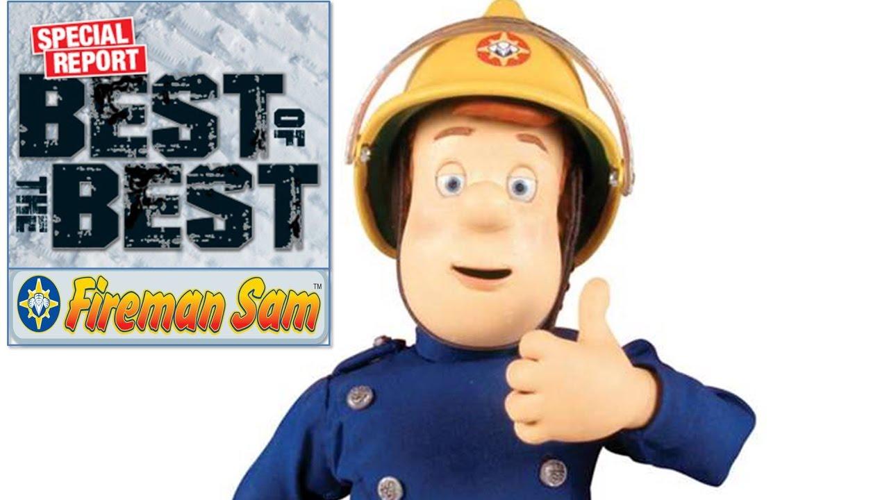 Best Fireman Sam Toys Kids : Fireman sam saves the day tram fire jupiter truck