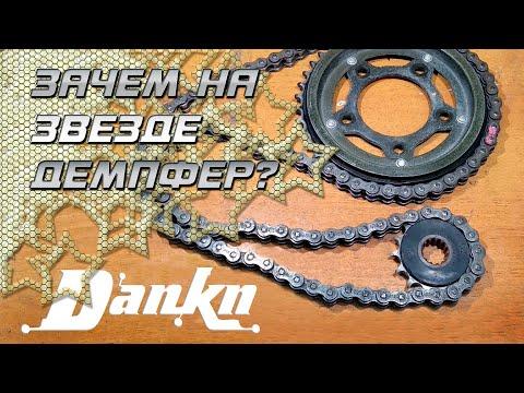 Замена цепи и звёзд на мотоцикле  Honda CB400