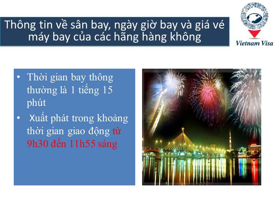 Giá vé máy bay từ Vinh đi Đà Nẵng