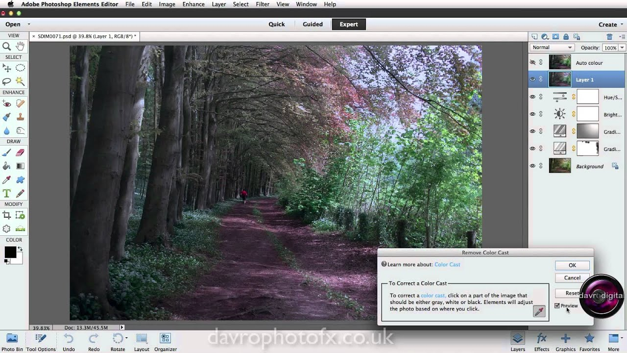 How to fix color cast in photoshop elements - How To Remove Colour Cast In Photoshop Elements