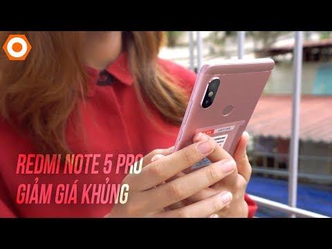 Xiaomi Redmi Note 5 Pro giảm giá...
