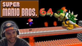 Speedrunning Super Mario Bros. INSIDE SM64?!