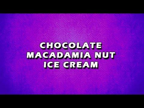 CHOCOLATE MACADAMIA NUT ICE CREAM   EASY TO LEARN   EASY RECIPES