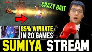 SUMIYA destroy High Winrate Spammer with Crazy Bait | Sumiya Invoker Stream Moment #918