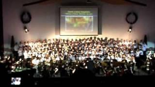 PIB Penha - São Paulo Cantata de Natal 2011 - Bem vindo ao nosso mundo - Coro da juventude