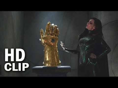 Infinity Gauntlet In Thor Ragnarok Movie Scene   Marvel Thor Ragnarok 2017