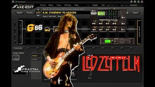 AxeFx2/AX8 - Stairway To Heaven - Guitar Solo - Led Zeppelin