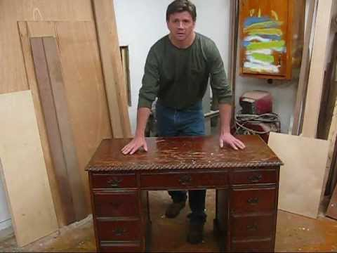 How to strip refinish wood furniture with zip strip by jon peters youtube Restoring old wooden furniture