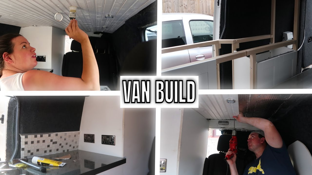 VAN BUILD CONVERSION TO SLEEP A FAMILY OF 7