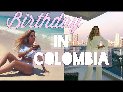 Turning 24 in Cartagena! My Birthday Vlog