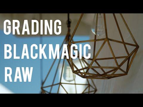 Grading BMPCC4K Blackmagic Raw in Resolve