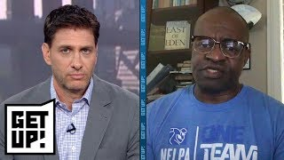 NFLPA executive director DeMaurice Smith speaks out on new national anthem policy | Get Up! | ESPN