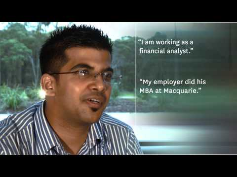 Macquarie Is The Best Place To Study CPA In Australia Says Indian Student