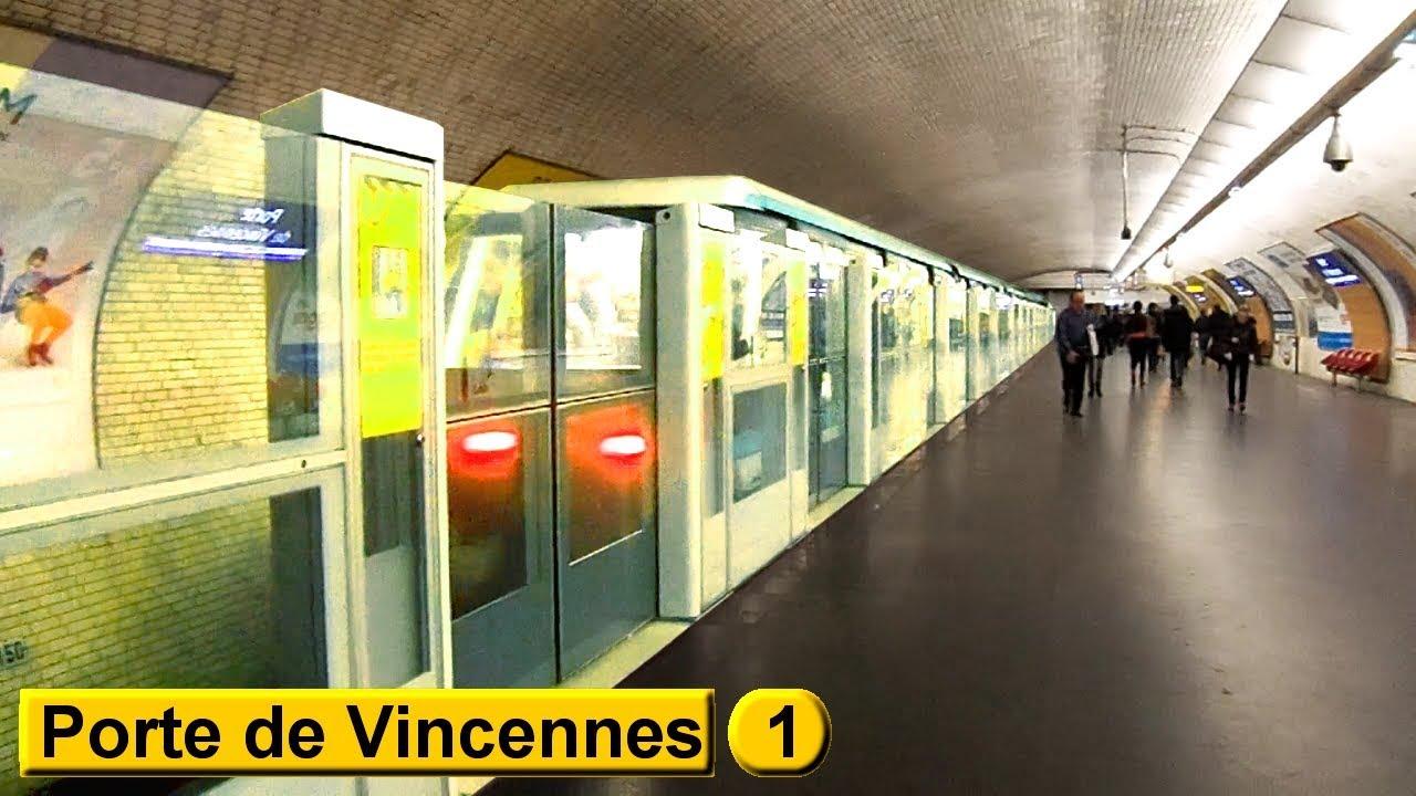 Porte de vincennes ligne 1 m tro de paris ratp mp05 - 2 place de la porte maillot 75017 paris ...