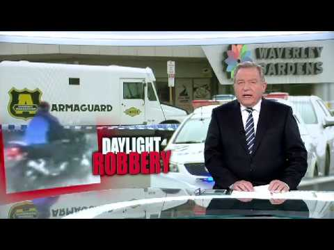 Police Investigate Armoured Car Robbery - Mulgrave, Melbourne (2018)