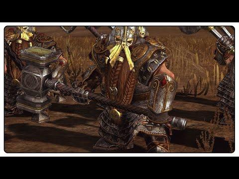 MORE DWARF UNITS - Total War: WARHAMMER Mod Gameplay
