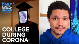College During Corona: Video Game Graduation & Zoom Bombs  | The Daily Social Distancing Show