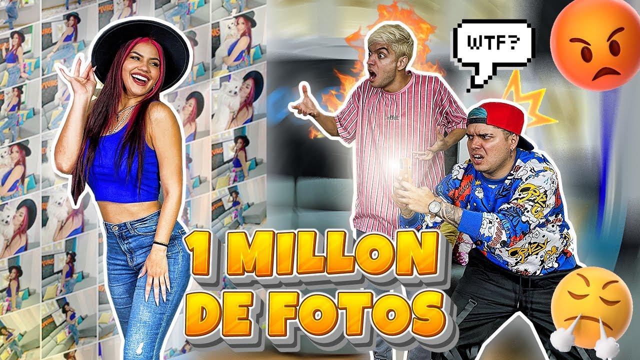 OBLIGO A MIS AMIGOS A TOMARME UN MILLÓN DE FOTOS - BROMA