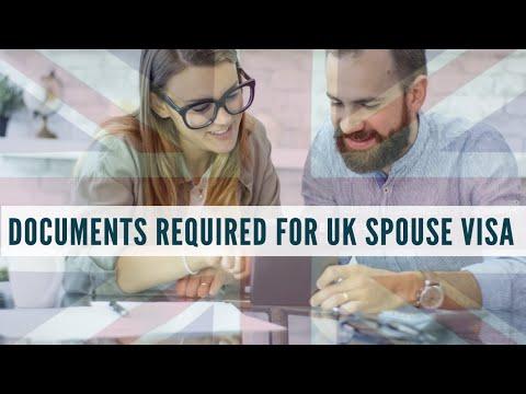 UK SPOUSE VISA documents checklist 2017.