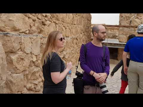 The story of Masada, Israel. Tour Guide: Ron Nachman