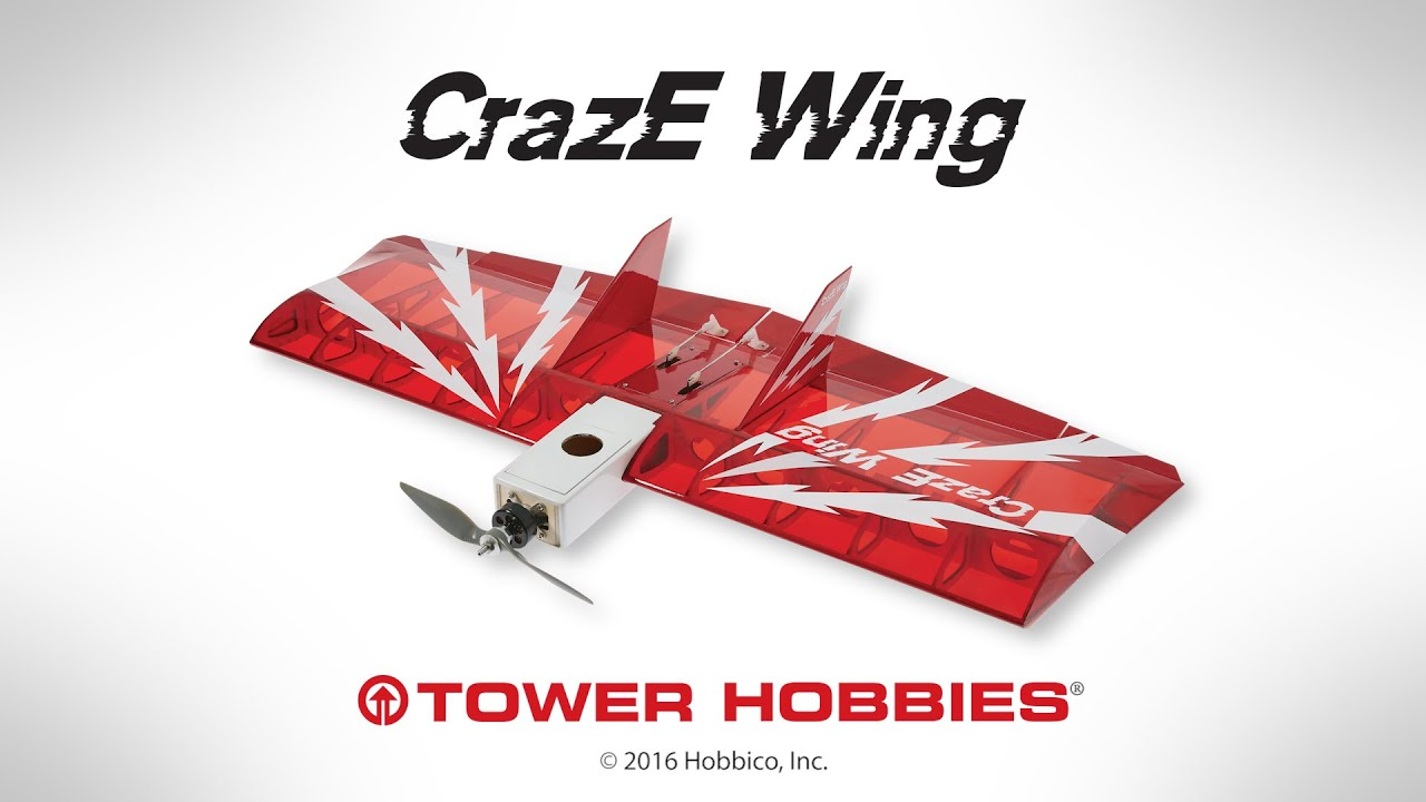 Raw Performance: Tower Hobbies CrazE Wing EP ARF