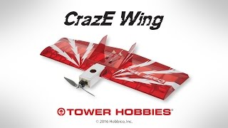 Thumnail for Raw Performance: Tower Hobbies CrazE Wing EP ARF