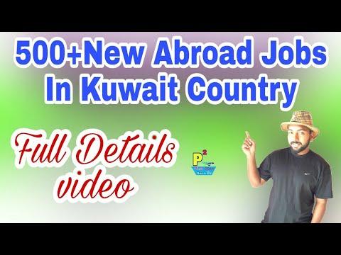 Abroad Job At Kuwait Country,500+ Jobs Post, Salary 180+Food+ OT