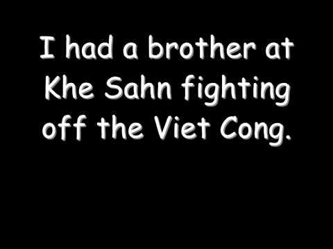 Bruce Springsteen - Born In The USA  - Lyrics - 1984
