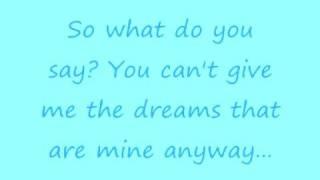 Oasis-Half the World Away Lyrics