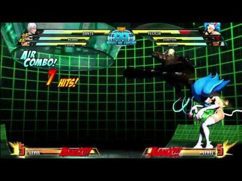 Dante Combo Tips - Marvel VS Capcom 3