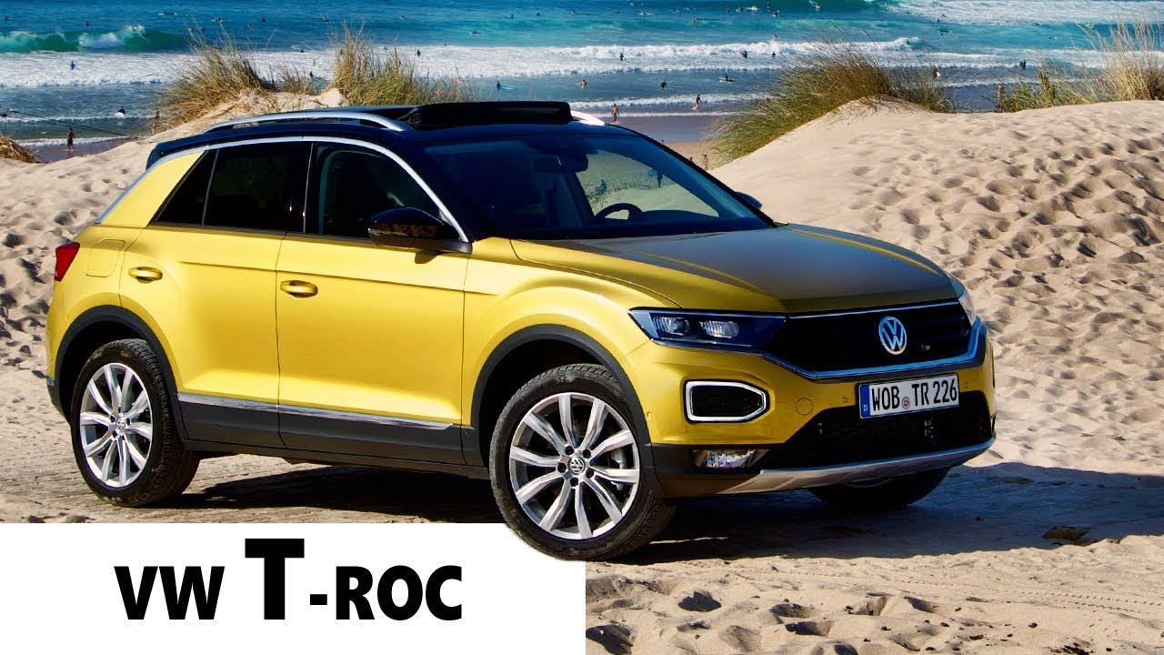 essai nouveau vw t roc 2018 le mini suv funky youtube. Black Bedroom Furniture Sets. Home Design Ideas