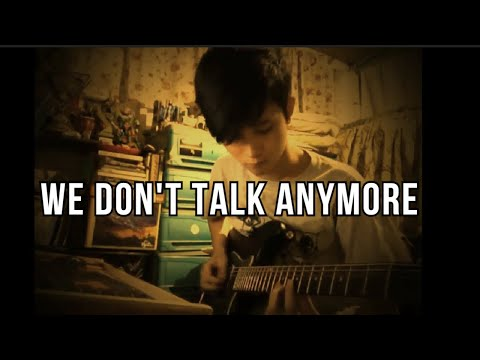 We dont talk anymore - Charlie puth (Fingerstyle cover)