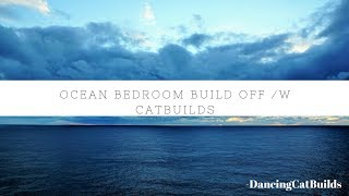 Bloxburg: Ocean Bedroom Builds Off w/ my sis | Roblox