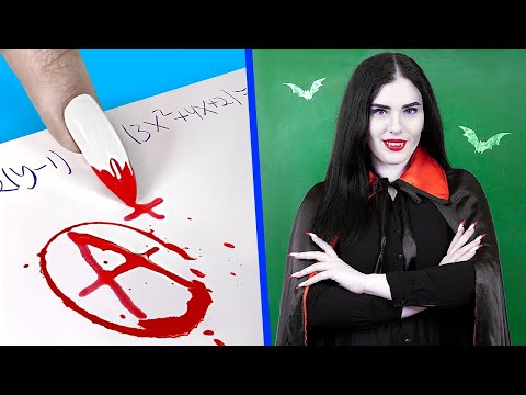 what-if-your-professor-is-a-vampire?-/-8-diy-vampire-college-supplies