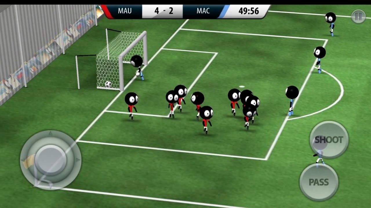 Jogo de futebol olaine